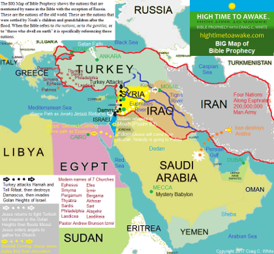 BIG Map of Bible Prophecy