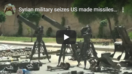US and Israeli weapons seized in Syria