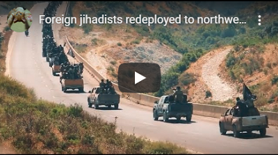 Jihadists flood into Hamah from the Turkish border